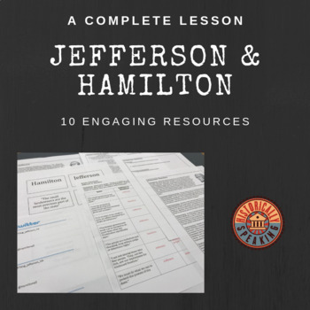 Jefferson v hamilton teaching resources teachers pay teachers hamilton a complete lesson jefferson vs hamilton a complete lesson ccuart