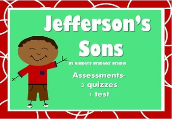 Jefferson's Sons by Kimberly Brubaker Bradley, Assessments