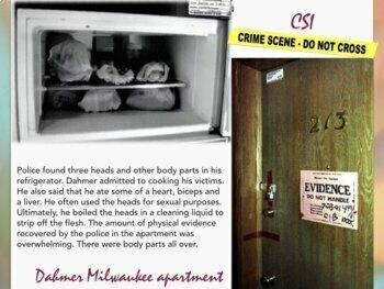 Jeffrey Dahmer - Serial Killer - Gay Murder - Dismember - Cannibal - 71 Slides