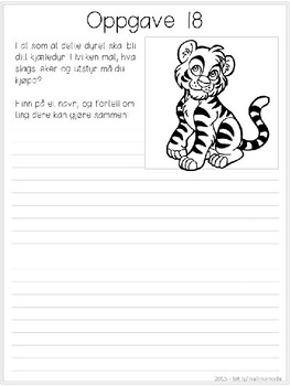 Korte skriveoppgaver - ventearbeid! [BM&NN]