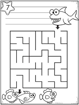Labyrinter med korte skriveoppgaver [BM&NN]