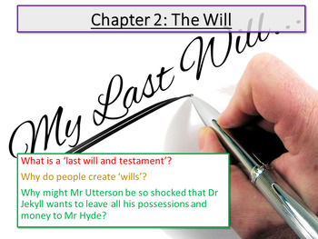 Jekyll and Hyde: Chapter 2 - The Will