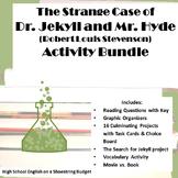 Jekyll and Hyde Activities Bundle (R.L. Stevenson) Word