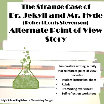 Jekyll and Hyde Alternate Point of View Project (R.L. Stevenson)