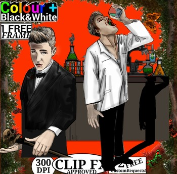 Story Clipart - Jekyll and Hyde