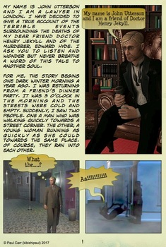 Jekyll and Hyde - Comic Book - Part 1