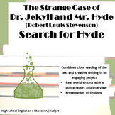 Jekyll and Hyde The Search for Hyde Project (R.L. Stevenson)