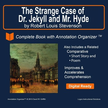JEKYLL AND HYDE by R.L. Stevenson: Digital Book Bundle and Annotation Organizer