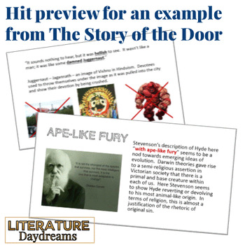 Jekyll and Hyde Literary Analysis by Chapter CCSS