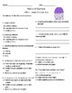 Jellies Comprehension & Vocabulary Test