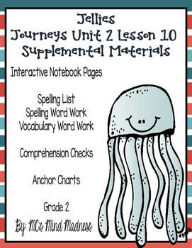 Jellies Journeys Unit 2 Lesson 10