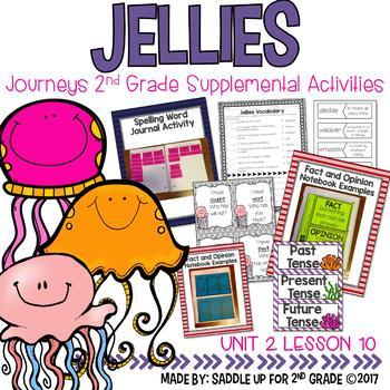 Jellies Journeys 2nd Grade Supplemental Activities