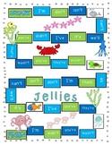 Jellies Spelling Game Board