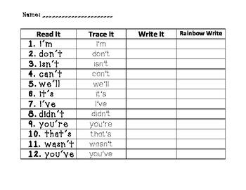 Jellies Spelling Practice