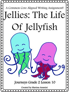 Jellies:  The Life Of Jellyfish-Journeys Grade 2-Lesson 10