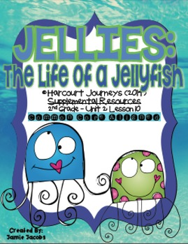 Jellies: The Life of a Jellyfish (Journeys 2nd Grade - Sup