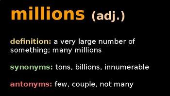 Jellies- Vocabulary