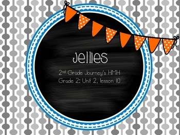 Jellies supplemental activities - Journey's 2nd Grade Unit