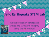 Jello Earthquake STEM Exploration Using the 5E Method
