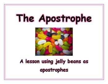 Jelly Bean Apostrophe Lesson