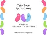 Jelly Bean Apostrophe Practice