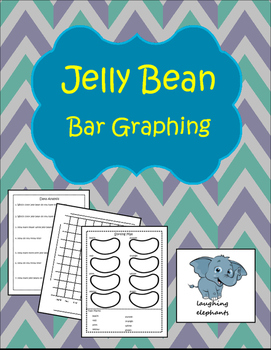 Jelly Bean Bar Graphing with Data Analysis