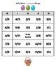 Jelly Bean Bingo - Adding and Subtracting Fractions (Like Denominators)