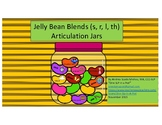 Jelly Bean Blends (s, r, l, th) - Articulation Jars