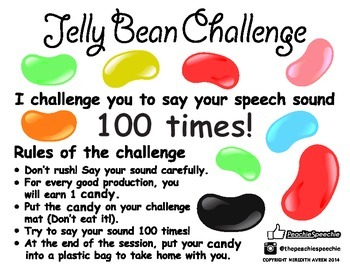 100 Trials Jelly Bean Challenge