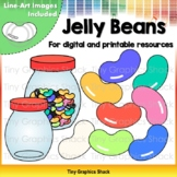 Jelly Bean Clip Art