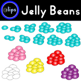 Jelly Bean Clipart Count to 10 Easter Spring Break Math Addition Subtraction Add
