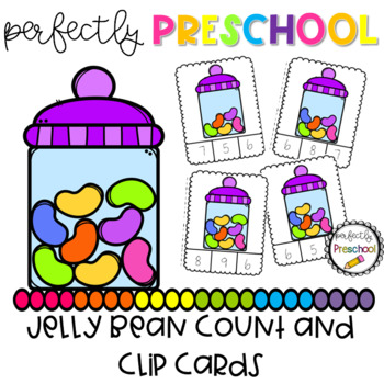 Jelly Bean Count and Clip