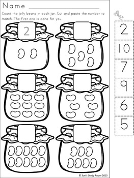 Jelly Bean Developing Math Skills