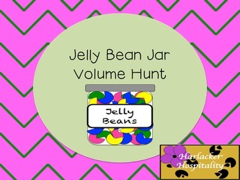 Jelly Bean Jar Volume Hunt