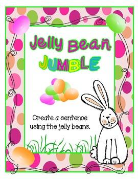 Jelly Bean Jumble - Scrambled Sentences
