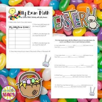 Jelly Bean Math (A Fun Easter Math Activity with Jelly Beans.)