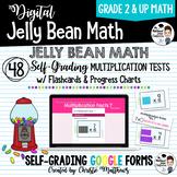 Jelly Bean Math - Digital Timed Multiplication Math Facts