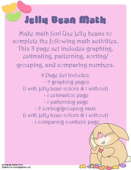 Jelly Bean Math {Easter Math}