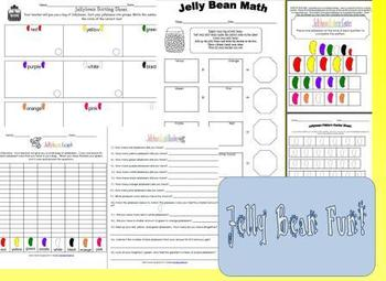Jelly Bean Math Fun Printables