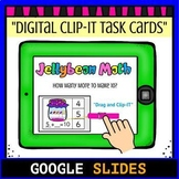 Jelly Bean Math Making 10: Google Classroom Digital Clip-I