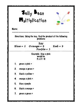 Jelly Bean Math Unit