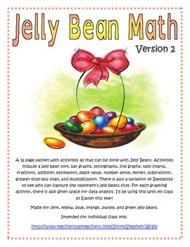 Jelly Bean Math - Version 2 - Great for Easter!
