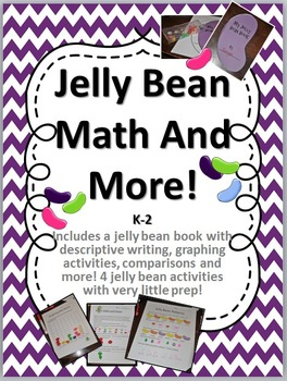 Jelly Bean Math and More - Easter Writing and Math - K-2