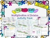 Jelly Bean Multiplication & Division Activity Pack~ 3.OA.7 & 3.NBT.3