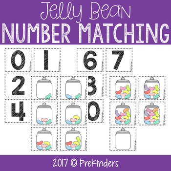 Jelly Bean Number Matching