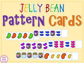 Jelly Bean Pattern Cards