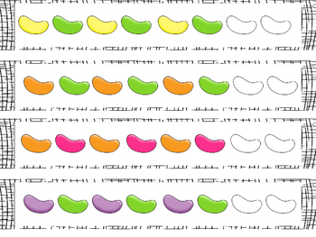 Jelly Bean Pattern Cards {FREEBIE}