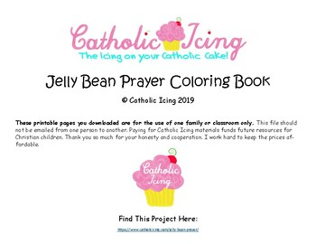 photo about Jelly Bean Prayer Printable identify Jelly Bean Prayer Coloring E-book