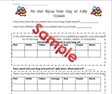 Jelly Bean Probability Lesson, Worksheet, & Labels