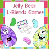 L-Blends Games:  Jelly Bean Themed
